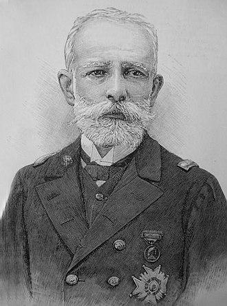 Patricio Montojo y Pasarón - Image: General Montojo