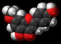 Genkwanin molecule spacefill.png