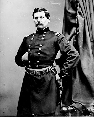 New Jersey in the American Civil War - George B. McClellan.