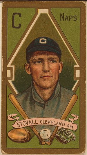 George Stovall - George T. Stovall baseball card