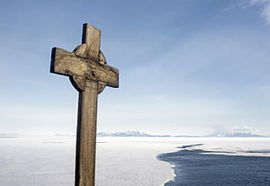 Hut Point Peninsula - George Vince's Cross