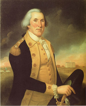 Six-star rank - Image: George washington charles peale polk