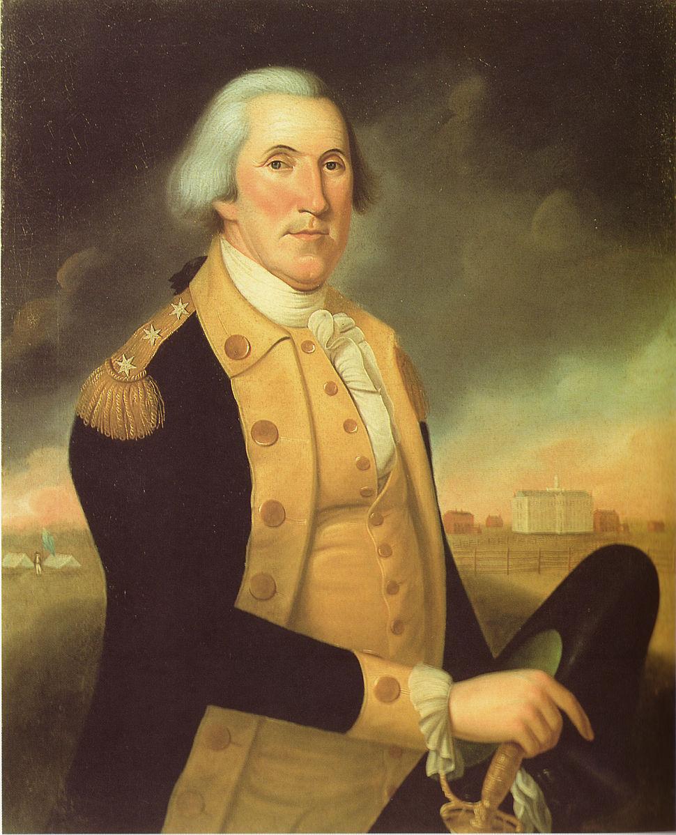 George washington charles peale polk