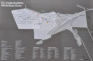 Mittelbau-Dora - Map of Mittelbau-Dora