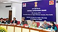 Ghulam Nabi Azad addressing the 20th Central Supervisory Board Meeting on PN & PNDT Act, in New Delhi. The Minister of State (Independent Charge) for Women and Child Development, Smt. Krishna Tirath is also seen.jpg