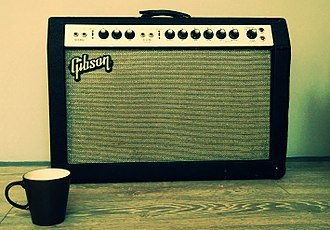 Guitar amplifier - Gibson Lancer GA-35 (mid-1960s) guitar amplifier