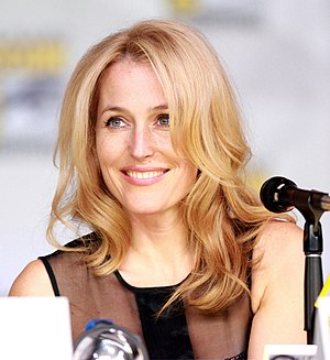 Gillian Anderson - Anderson at the 2013 San Diego Comic Con International