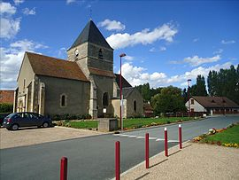 The church in Gimouille