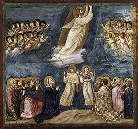 L'Ascension par Giotto.