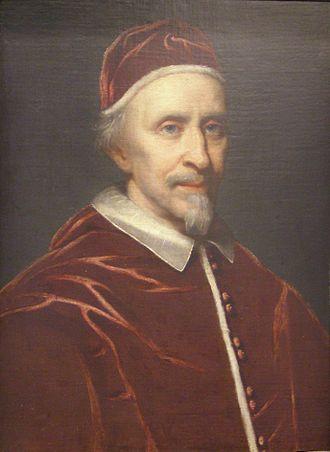 Pope Clement IX - Image: Giovanni Battista Gaulli Papa Clemente IX