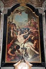 The Martyrdom of Saint Lawrence (Pittoni)