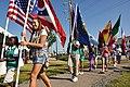 Girl Scouts at Lorain International Festival opening ceremonies (3664101200).jpg