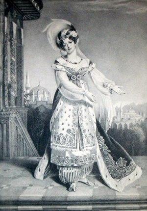 Elena da Feltre - Giuseppina Ronzi de Begnis, who created the role of Elena da Feltre