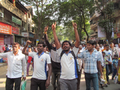 Giving slogans of Dr Ambedkar at Mumbai.png