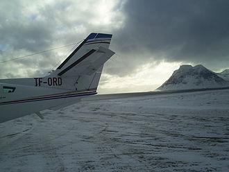 Gjögur Airport - Image: Gjögur Airport