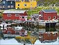 Gjesvær - reflections in Nordkapp - panoramio.jpg
