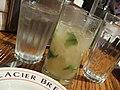 Glacier Brewhouse - Peach and cinnamon mojito (2856072484).jpg