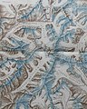 Glacier detail from Sketch Map of the glaciers of Kangchenjunga by Edmund J. Garwood, 1903 (cropped) (cropped).jpg