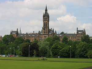 Regius Professor of Law (Glasgow) - Image: Glasgowuniversity