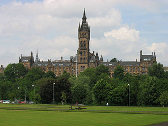 Professor of Scottish History and Literature - Image: Glasgowuniversity
