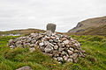 Gleann Cholm Cille Turas Cholmcille Stad 6 Cairn East Face and View to the Sea 2010 09 24.jpg