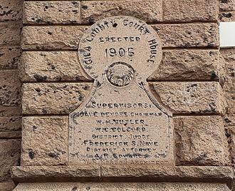 Gila County Courthouse - Gila County Courhouse Detail, Globe, Arizona