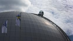 Globen Sky View gondola ride.