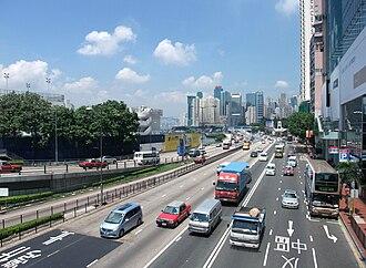 Gloucester Road, Hong Kong - Image: Gloucester Road, Hong Kong 1