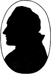 Goethes Profil im Schattenriss (Quelle: Wikimedia)