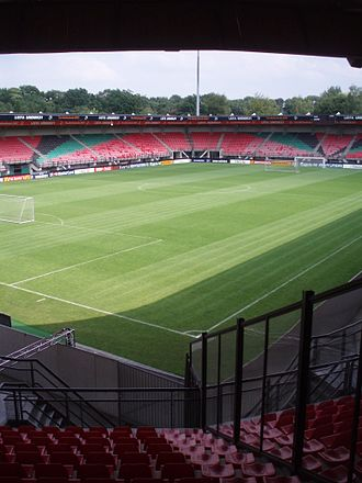 N.E.C. (football club) - McDos Stadium de Goffert in 2008, 12,500 spectators.