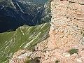 Gola dell'infernaccio vista dal monte sibilla - panoramio (2).jpg
