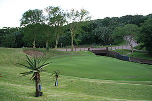 Golf Green.