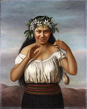 Gottfried Lindauer - Image: Gottfried Lindauer Portrait of Terewai Horomona (b.1866)