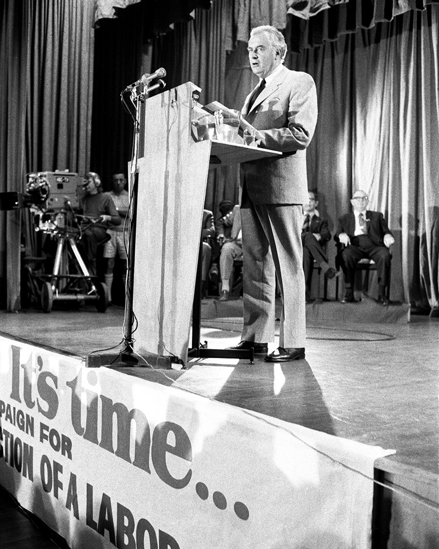 Gough Whitlam 1972 policy speech