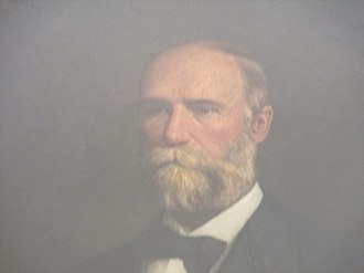 Edmund J. Davis - Davis as he appears at the Texas State Capitol in Austin, Texas