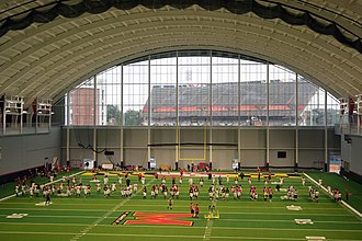 Cole Field House - Image: Governor Visits University of Maryland Football Team (36088169734)