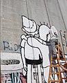 Graffiti of Peace in Bethlehem on Apartheid Wall by Street Artist Kis-Lev7.jpg