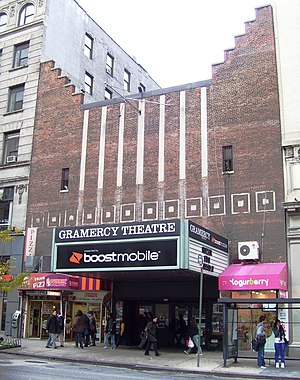 Over time, the Gramercy Theatre at 127 East 23...