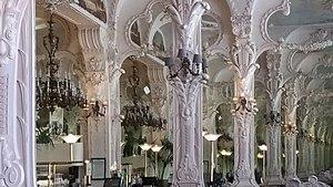 Le Grand Café, Moulins - Image: Grand café de Moulins salle du rez de chaussée miroirs, avril 2017