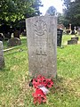Gravestone of Serjeant Charles Whitton of the 18th Battalion Welch Regiment at Llanishen Cemetery, May 2020.jpg