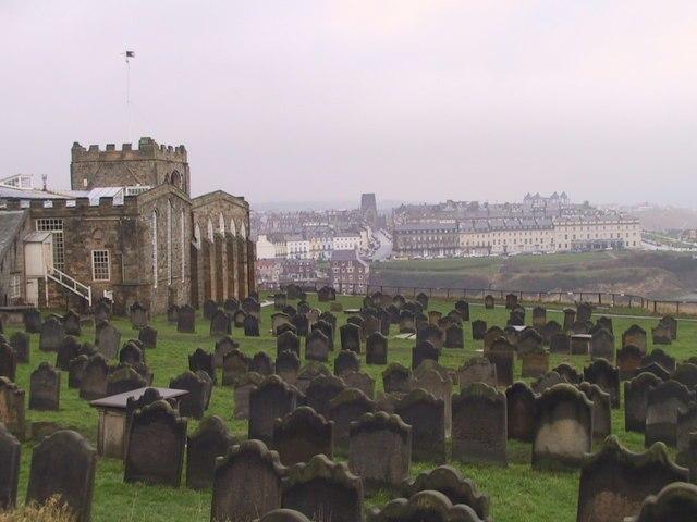 Gravestones, St Mary's Church - geograph.org.uk - 1671934