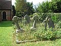 Graveyard, St. John the Baptist Church, Lee, Buckinghamshire - geograph.org.uk - 1492910.jpg