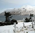 Graveyard of the Holy Ascension of Our Lord Russian Orthodox Church, Unalaska, Alaska.jpg