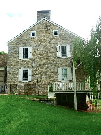John Gray House (Port Matilda, Pennsylvania) - Image: Gray House Centre Co PA gable