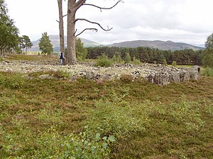 Ring cairn - Greenish Ring Cairn