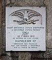 Grenoble - plaque de la route Napoléon.JPG