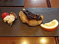 Grilled Japanese spanish mackerel (16175447598).jpg