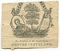 Grover Cleveland for president campaign memorabilia fragment LCCN2015645500.jpg