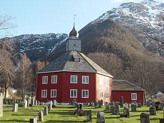 Grytten Church Church in Møre og Romsdal, Norway