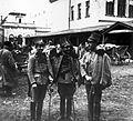 Grzmot-Skotnicki, Belina-Prażmowski i Orlicz-Dreszer , Nowy Sącz 1914.jpg